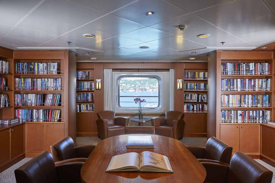Silver Whisper - Library