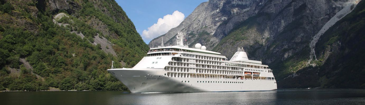 Silversea Small Luxury Cruise Ship - Silver Whisper