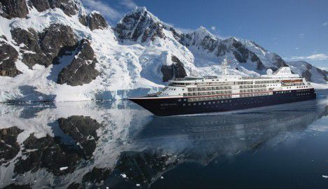 Silversea Small Luxury Cruise Ship - Silver Cloud Expedition