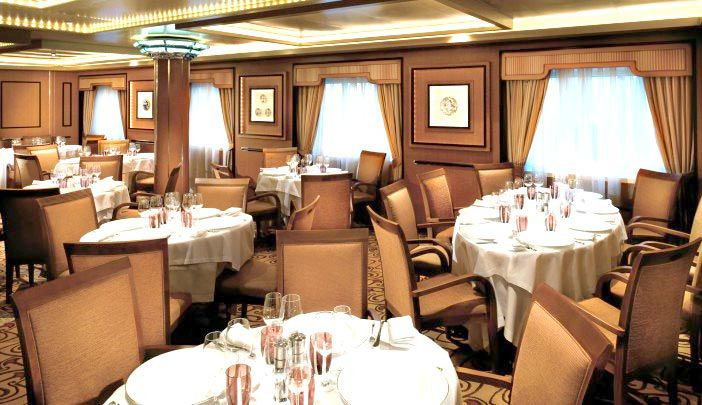 Silversea Luxury Cruises - Dining The Restaurant