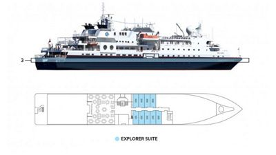 Silversea Luxury Cruises - Explorer Suite