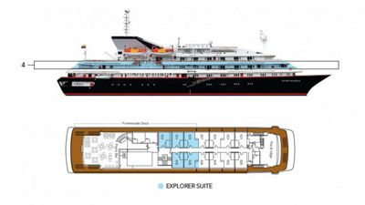 Silversea Luxury Cruises - Explorer Suite