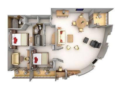 Silversea Luxury Cruises - Grand Suite