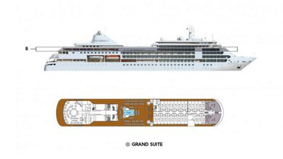 Silversea Luxury Cruises - Grand Suite