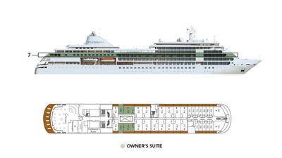 Silversea Luxury Cruises - Owner Suite