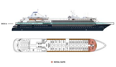 Silversea Luxury Cruises - Royal Suite