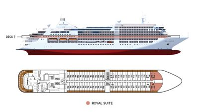 Silversea Luxury Cruises - Royal Suite