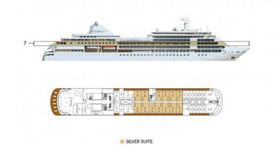 Silversea Luxury Cruises - Silver Suite