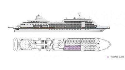 Silversea Luxury Cruises - Terrace Suite