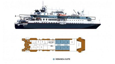 Silversea Luxury Cruises - Veranda Suite