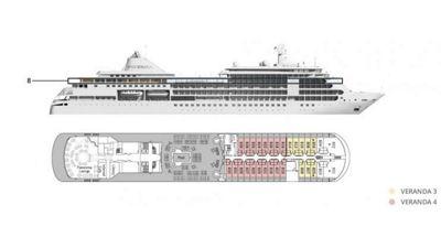 Silversea Luxury Cruises - Veranda Suite