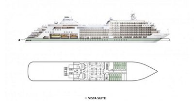 Silversea Luxury Cruises - Vista Suite